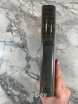 1903 The Call Of The Wild First Edition Book with Jack London Signed Check. COA