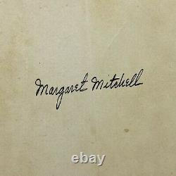 1936 Margaret Mitchell Signed Gone With The Wind First Edition Hardcover Book