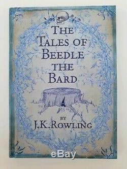 1st Edition 1st print SIGNED book J. K. Rowling- Beadle The Bard, Harry Potter