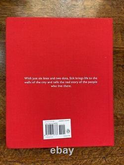 1st edition Stik book with orange poster print