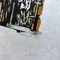 2 Signed Original Lithographs By Maria H Vieira Da Silva & Limited Edition Book