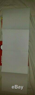 2 × hand signed Stik book, 1× doodled + one blue poster both unread 1st editions