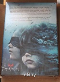 2018 Bird Box Josh Malerman Signedspecial Edition #18 With Original Book Art