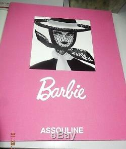 50th Anniv ASSOULINE BARBIE Book Special Edition Huge 2008 SIGNED by Mattel Prez