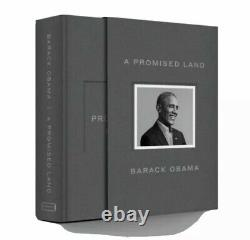 A Promised Land Deluxe Signed Edition Hardcover Book by Barack Obama SEALED