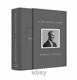 A Promised Land President Barack Obama Deluxe Signed Edition Book IN HAND & NEW
