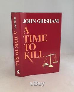 A Time To Kill-John Grisham-SIGNED! -INSCRIBED! -Book Club Edition-Wynwood-RARE