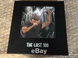 AC/DC Rock Or Bust Tour Photo Book Rufus Signed Limited Edition Last 100 MINT
