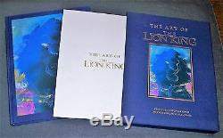 ART OF THE LION KING, Signed 4X, Slipcase + Sericel, Limited Edition, 1994 Disney