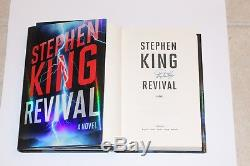 AUTHOR STEPHEN KING SIGNED'REVIVAL' FIRST 1ST/1ST EDITION HARDCOVER BOOK withCOA