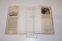 AUTHOR STEPHEN KING SIGNED THE SHINING 1ST/1ST EDITION PRINTING BOOK R49 withCOA