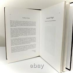 Absolute Magic, Derren Brown. Hardback Book 1st Edition, Signed By Author. RARE
