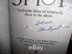 Alan Shepard Signed-book 1st-Edition 3rd-Printing