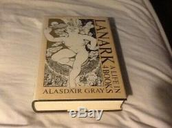 Alasdair Gray Lanark, A Life In Four Books, Signed Limited Edition Book, Fine
