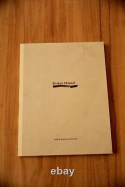 Alec Soth'Broken Manual' photo book Signed Steidl press 1st edition
