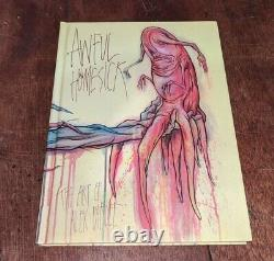 Alex Pardee Awful Homesick Art Book Hc Hardcover Signed Doodled 1st Edition