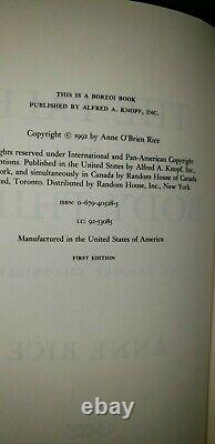 Anne Rice Vampire & Witches Chronicles Set 18 Book Lot Lestat 1st Edition Signed