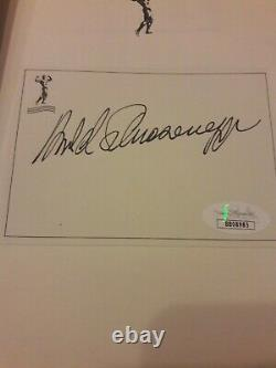 Arnold Schwarzenegger Signed Book Total Recall 1st Edition Hardcover JSA COA
