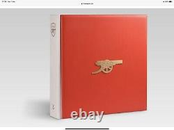 Arsenal Opus Limited Edition Book, Signed & Numbered. New Boxed Unopened