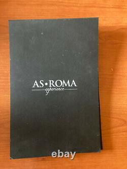 As Roma Worn Con Autografi Book Limited Edition Totti De Rossi Salah Signed