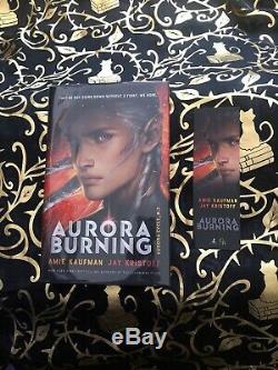 Aurora Burning Goldsboro Books Limited Edition Signed + Numbered + Sprayed Edges