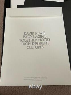 Autographed DAVID BOWIE IS BOOK PERSONAL PORTFOLIO. BLACK EDITION. Signed Photo