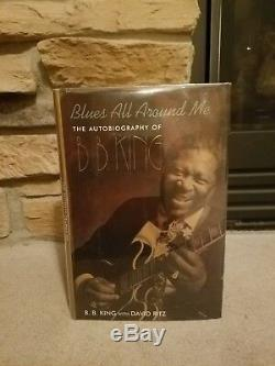 BB B. B. KING BLUES ALL AROUND ME SIGNED 1st EDITION BOOK