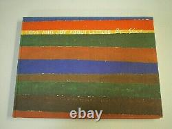 BEN SHAHN Love and Joy About Letters SIGNED Limited 31/100 Edition HC Art BOOK