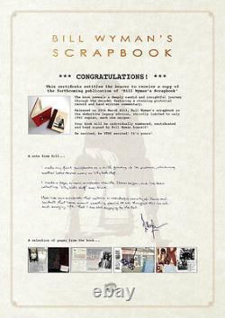 BILL WYMAN Scrapbook Legacy Edition #'d deluxe book + vinyl 10 NEWithSEALED