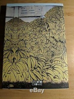 BLU 2004 2007 Signed Ltd Edition Rare Book By Studio Cromie NOT Banksy Kaws