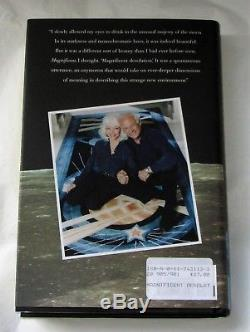 BUZZ ALDRIN SIGNED- MAGNIFICENT DESOLATION FIRST EDITION signed Hard Back book