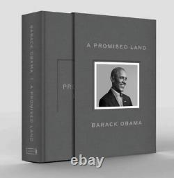 Barack Obama A Promised Land Book Deluxe Signed Edition NEW 2020 Pre Order
