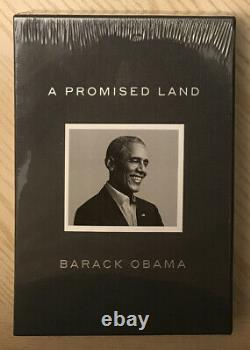 Barack Obama Signed A Promised Land Deluxe Edition Autographed Clothbound Book