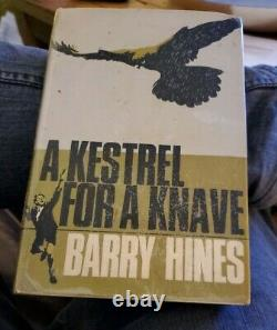 Barry Hines A Kestrel For A Knave First UK Edition 1968 1st Book signed