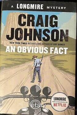 Beautiful Set 18 HC 1st Edition Signed Books Craig Johnson Longmire Stores