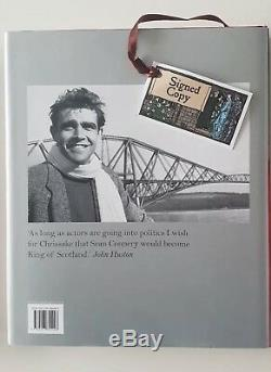 Being a Scot Sean Connery Signed Hardback First Edition Autograph Book Biography