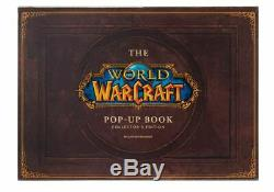 Blizzcon World of Warcraft Collector's Edition Pop Up Art Book SIGNED + Pin Mat