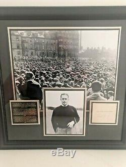 Bobby Jones Certified Signed Golf Book 1st edition 1953 Framed One of a Kind