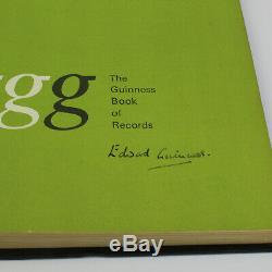 Book of Records 1970 Private / Company Edition. SIGNED by Edward Guinness