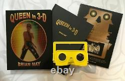 Brian May Signed Queen In 3-D Bohemian Rhapsody Deluxe Edition Book Autographed