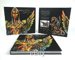 Bronze & Beautiful Nano Lopez Signed Fine Art Book New Edition