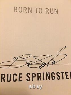 Bruce Springsteen Born to Run Signed Autographed Edition Specially Bound Book