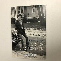 Bruce Springsteen Hand Signed Born To Run Publishers Limited Edition Signed Book