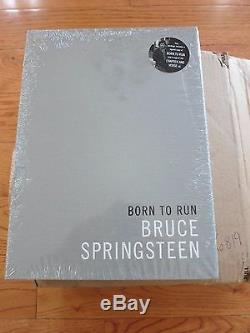 Bruce Springsteen signed Limited Edition slipcase book coa + Proof! Born to Run