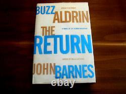 Buzz Aldrin Apollo 11 Astronaut Signed Auto The Return 1st Edition Book Letter