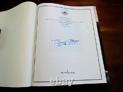 Buzz Aldrin Apollo 11 Signed Auto Spaceflight Leather Collectors Edition Book
