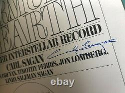 Carl Sagan MURMURS OF EARTH Cosmos signed book First Edition Rare 1978 UACC