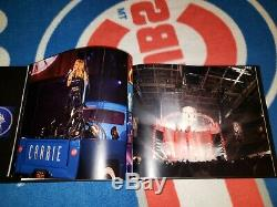 Carrie Underwood signed & inscribed 2010 Play On Tour limited edition crew book