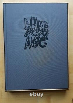 Chapman Brothers SIGNED limited edition print Artist's Colouring Book of ABC's