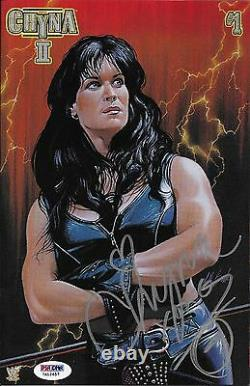 Chyna Signed WWE Limited Premium Edition II Chaos Comic Book Issue 1 PSA/DNA COA